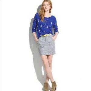 Madwell Stripped Skirt Size 8